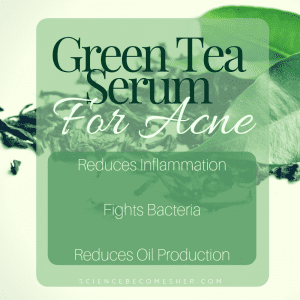 green tea for acne benefits
