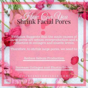 How Can You Shrink Facial Pores