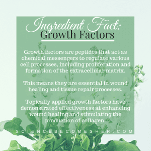 Snail Mucin Growth Factors