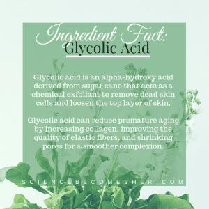 Glycolic Acid Benefits