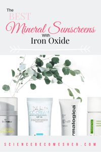 What Are The Best Mineral Sunscreens With Iron Oxide?