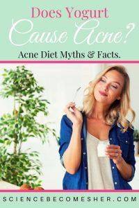Does Yogurt Cause Acne?